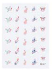 4023-SD17 Finger Nail & Toe Nail Stickers-30 Stickers
