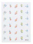 4023-SD22 Finger Nail & Toe Nail Stickers-30 Stickers
