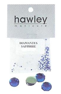 4103A- Hawley Diamantes 25 Pack-Sapphire
