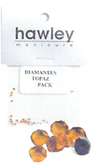 4103A- Hawley Diamantes 25 Pack-Topaz