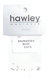 4103A- Hawley Diamantes 25 Pack-Rose