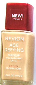 Revlon Age Defying make Up with Botafirm SPF15-Dry Skin- New Formula-15ml Fresh Ivory