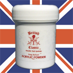 British Knight Truly Refined Acrylic Powder 8 Oz (227g)- Shimmering White