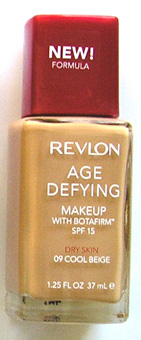 Revlon Age Defying make Up with Botafirm SPF15-Dry Skin- New Formula-15ml Cool Beige