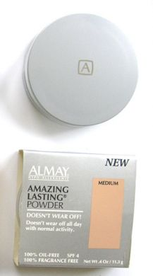Almay Amazing Lasting Powder Oil Free-11.3g Medium
