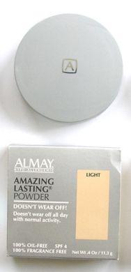 Almay Amazing Lasting Powder Oil Free-11.3g Light