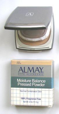 Almay (Hypo-Allergenic) Moisture Balance Pressed Powder 11.3g Sand