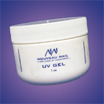 Nouveau Nail-One-Step UV Gel 1oz- Crystal Clear