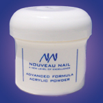 Nouveau Nail Advanced Formula Acrylic Powder 8oz (227g)- Whiter White