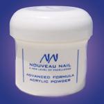 Nouveau Nail Advanced Formula Acrylic Powder 8oz (227g)- Clear