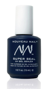 Nouveau Nail Super Seal UV Gel Sealer 1/2oz (~15ml)