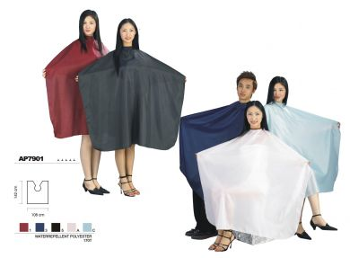 Hair & Beauty High Quality Water Repellent Polyester Hairdressing Capes