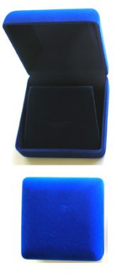 Gift Box 1- Heavy Duty Box-Blue Velvet Covering