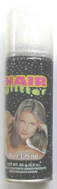 Hair Paint-Silver Glitter 125ml