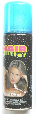 Hair Paint-Blue Glitter 125ml