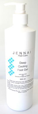 Jennai Deep Cooling Foot Gel 500ml