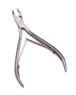 K-154 hair & Beauty Brand Two Arm 4mm Jaw Acrylic Cuticle Nipper