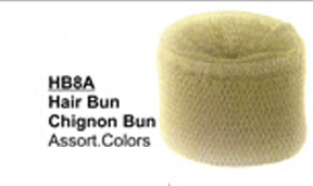 HB8A-Hair Bun Chignon Bun in Assorted Colours -Brown