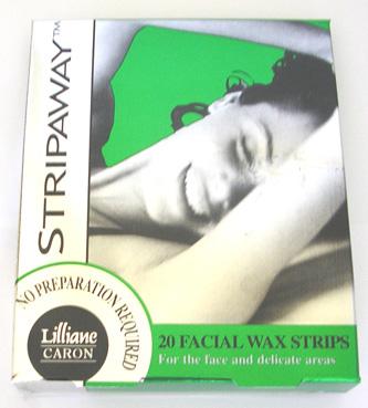 Caron-Strip-Away 20 Facial Wax Strips