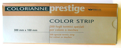 Colorianne Prestige-200 Special Thermal Strips for Colour Foils or Meches
