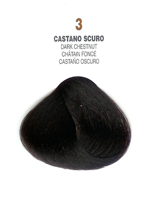 COLORIANNE Hair Colour- 100g tube-Dark Chestnut-#3
