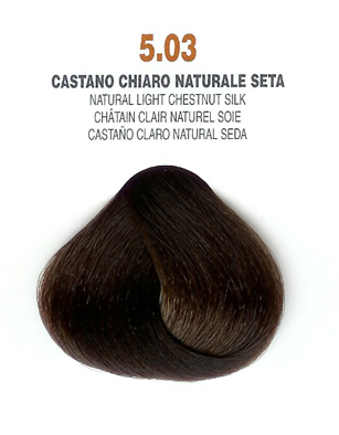 COLORIANNE Hair Colour- 100g tube-Natural Light Chestnut Silk-#5.03