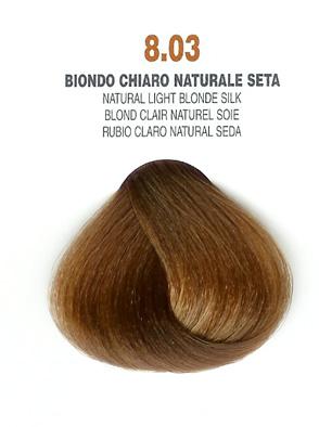 COLORIANNE Hair Colour- 100g tube-Natural Light Blonde Silk-#8.03