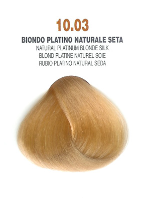 COLORIANNE Hair Colour- 100g tube-Natural Platinum Blonde Silk-#10.03