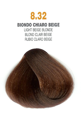COLORIANNE Hair Colour- 100g tube-Light Beige Blonde-#8.32