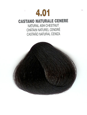 COLORIANNE Hair Colour- 100g tube-Natural Ash Chestnut-#4.01