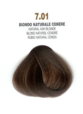 COLORIANNE Hair Colour- 100g tube-Natural Ash Blonde-#7.01