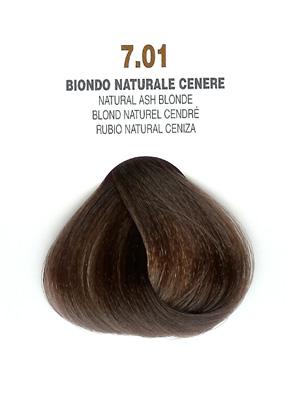 COLORIANNE Hair Colour- 100g tube-Natural Ash Blonde-#7.01