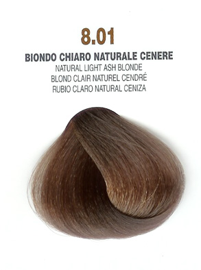 COLORIANNE Hair Colour- 100g tube-Natural Light Ash Blonde-#8.01
