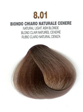 COLORIANNE Hair Colour 100g tube Natural Light Ash Blonde 8.01