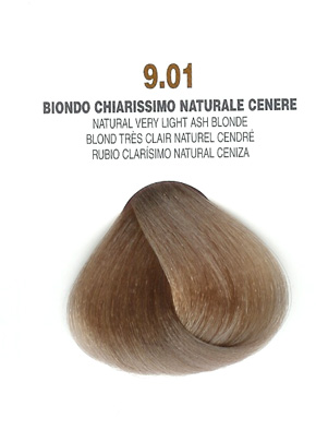 COLORIANNE Hair Colour- 100g tube-Natural Very Light Ash Blonde-#9.01
