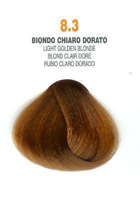 COLORIANNE Hair Colour- 100g tube-Light Golden Blonde-#8.3
