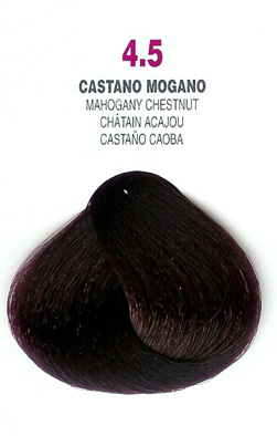 COLORIANNE Hair Colour- 100g tube-Mahogany Chestnut-#4.5