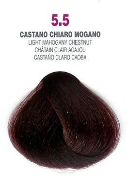 COLORIANNE Hair Colour- 100g tube-Light Mahogany Chestnut-#5.5