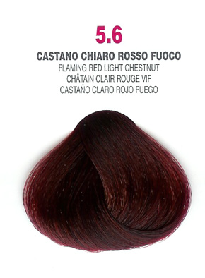 COLORIANNE Hair Colour- 100g tube-Flaming Red Light Chestnut-#5.6