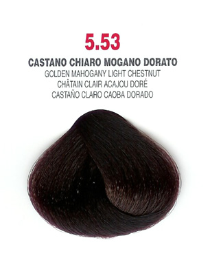 COLORIANNE Hair Colour- 100g tube-Golden Mahogany Light Chestnut-#5.53