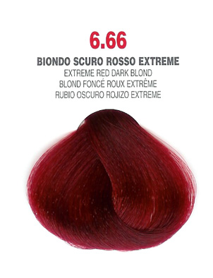 COLORIANNE Hair Colour- 100g tube-Extreme Red Dark Blonde-#6.66