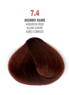 COLORIANNE Hair Colour- 100g tube-Auburn Blonde-#7.4