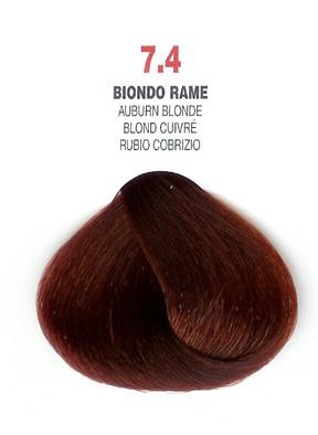 COLORIANNE Hair Colour- 100g tube-Auburn Blonde-#7.4