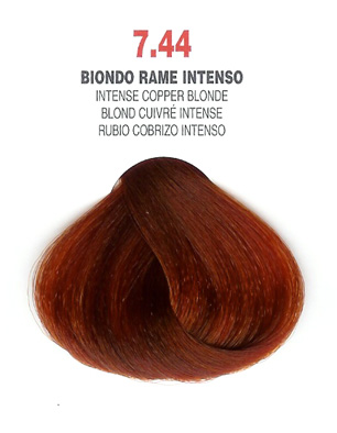 COLORIANNE Hair Colour- 100g tube-Intense Copper Blonde-#7.44