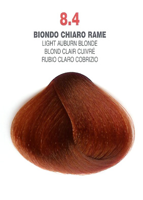 COLORIANNE Hair Colour- 100g tube-Light Auburn Blonde-#8.4