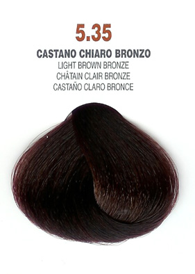 COLORIANNE Hair Colour- 100g tube-Light Brown Bronze-#5.35