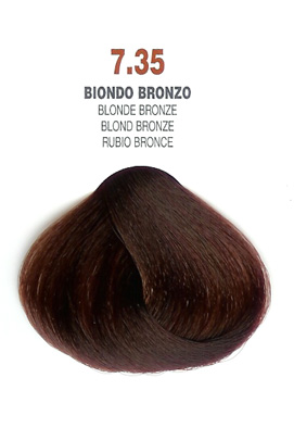 COLORIANNE Hair Colour- 100g tube-Blonde Bronze-#7.35