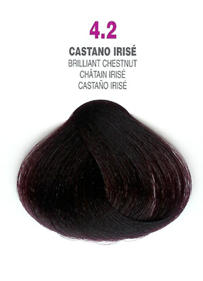 COLORIANNE Hair Colour- 100g tube-Brilliant Chestnut-#4.2