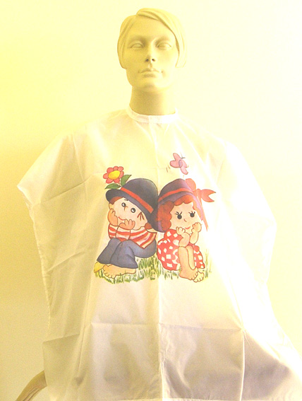 "Impresso Kids Hairdressing Cape-""Jack & Jill"""