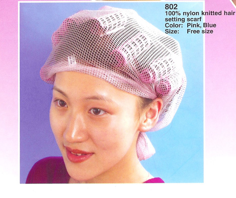 Hair Setting Scarf - Pink